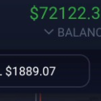 $72,122 IqOptions balance on VIP account