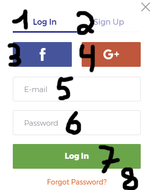IQOption.com login form