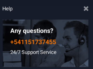 iqoption support and help