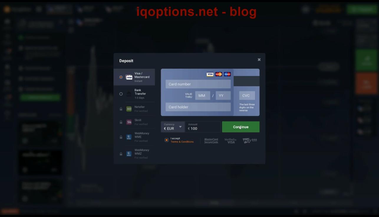iq option deposit