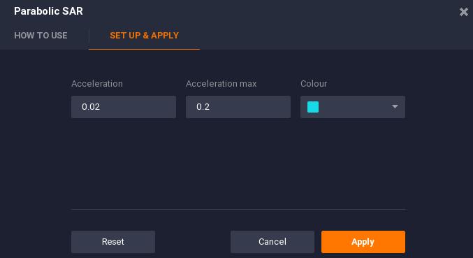 iqoption Calibrating acceleration max parameters