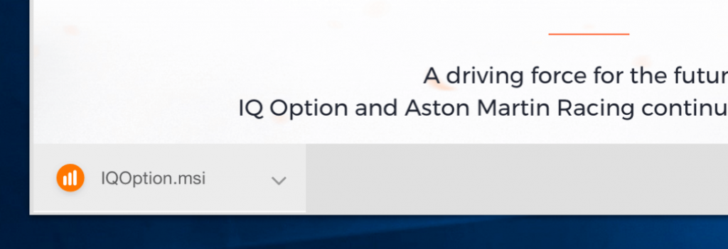 save iqoption msi file
