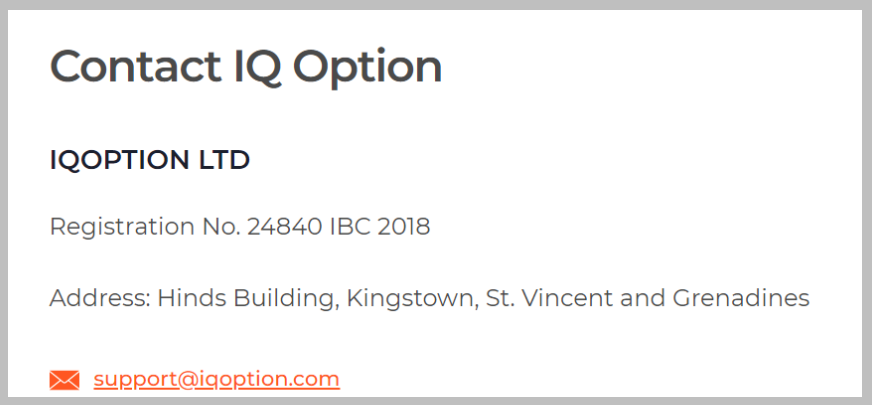 Iqoption contacts for banned accounts