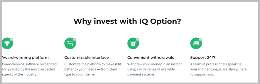 why trust Iqoption