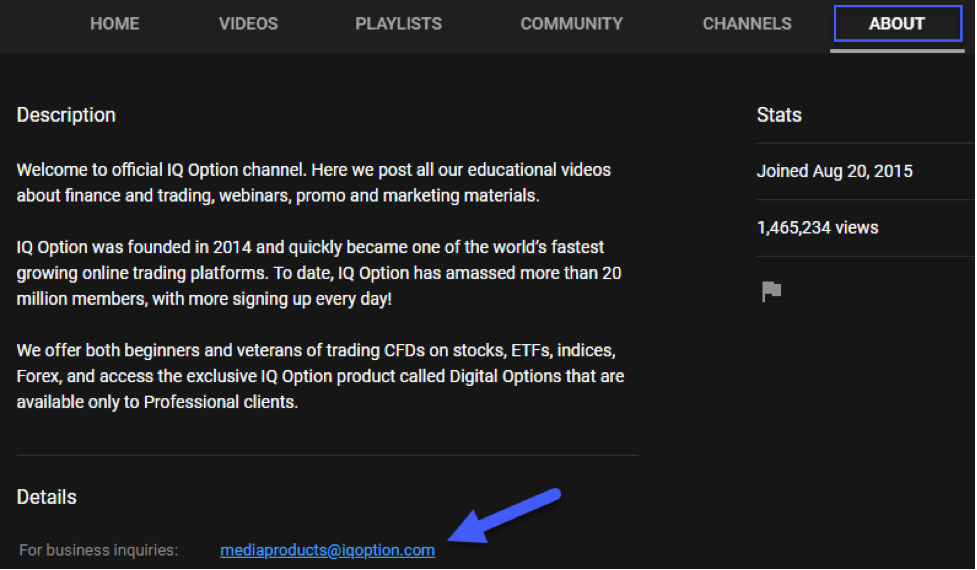 IQ_Option_Support_by_YouTube